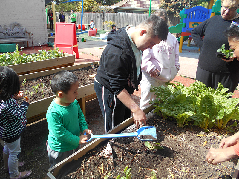 Childcare garden project