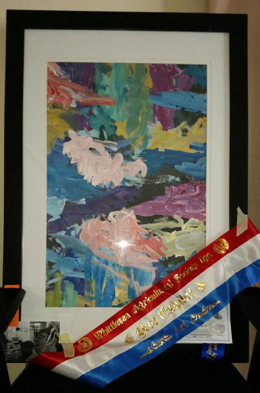 Winning artwork from Whitlsea show
