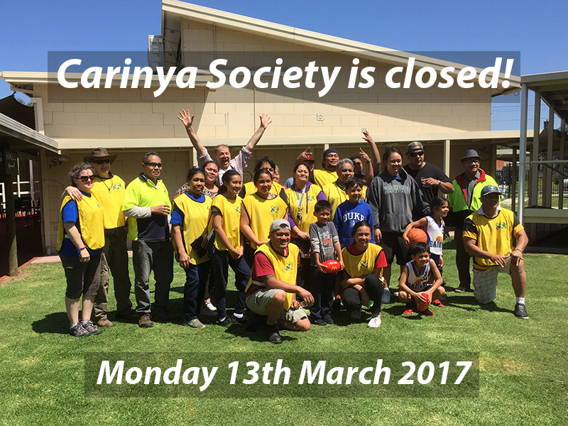 Labour Day 2017 closed