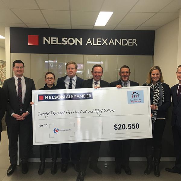 Nelson Alexander donate